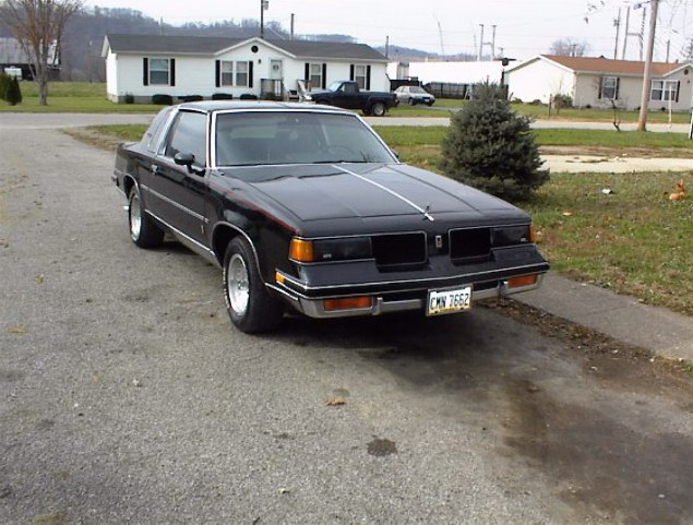 my 87 olds cutlass salon